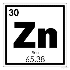 Mineral zinc essential for life
