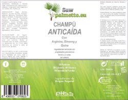 Shampoo anti-gota PH 5.5