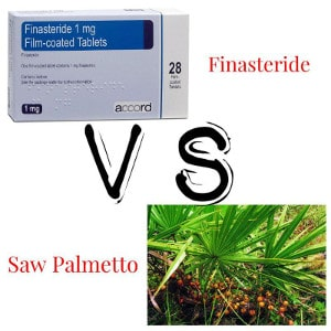 Finasteride VS Saw Palmetto