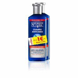 Shampooing anti-automne pour cheveux gras 2 unités