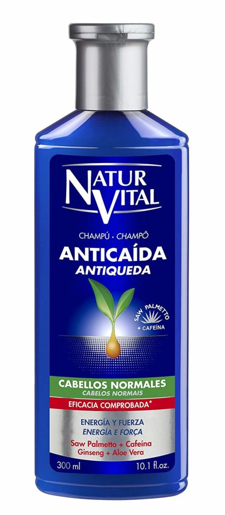 Champú anticaída con Saw Palmetto - cabello normal