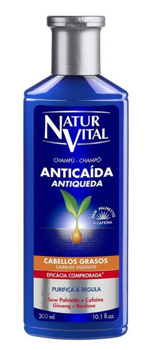 Shampoo anti-caduta con Saw Palmetto capelli oleosi