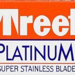 Cuchillas de afeitar Treet Platinum 10 unidades caja