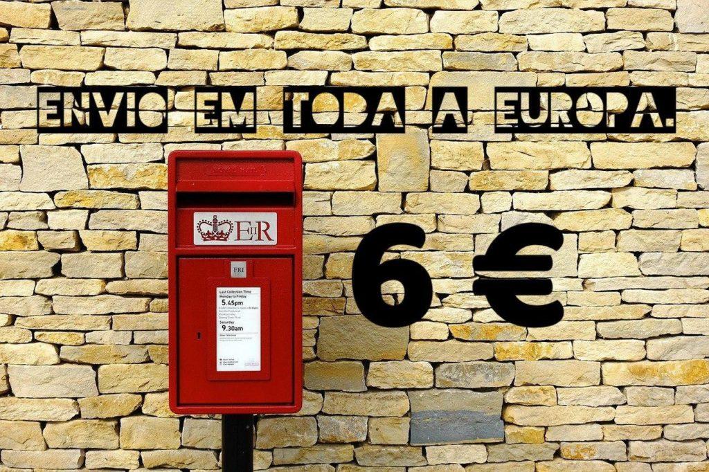Enviamos para toda a Europa xpecia
