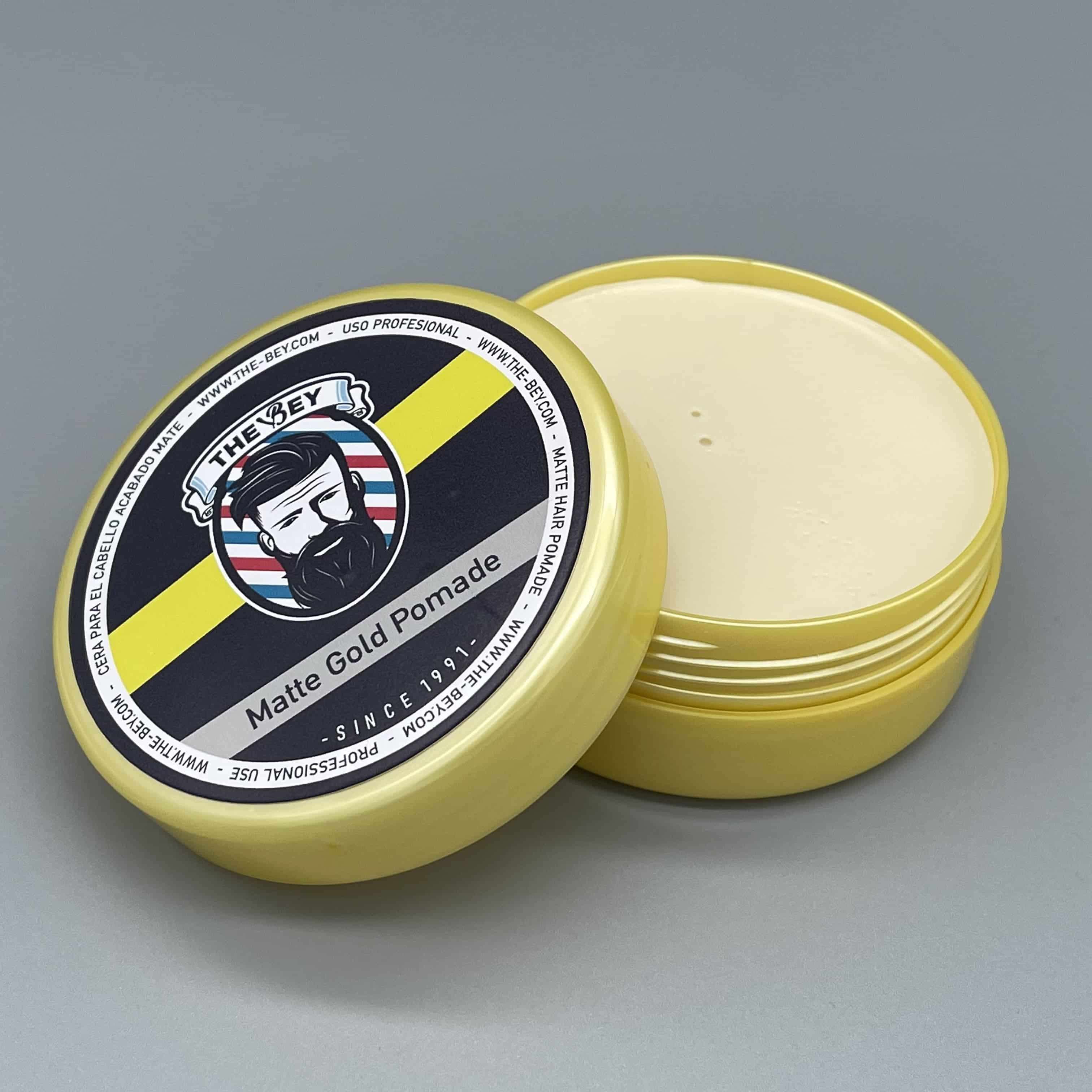 Matte Gold Pomade Cire