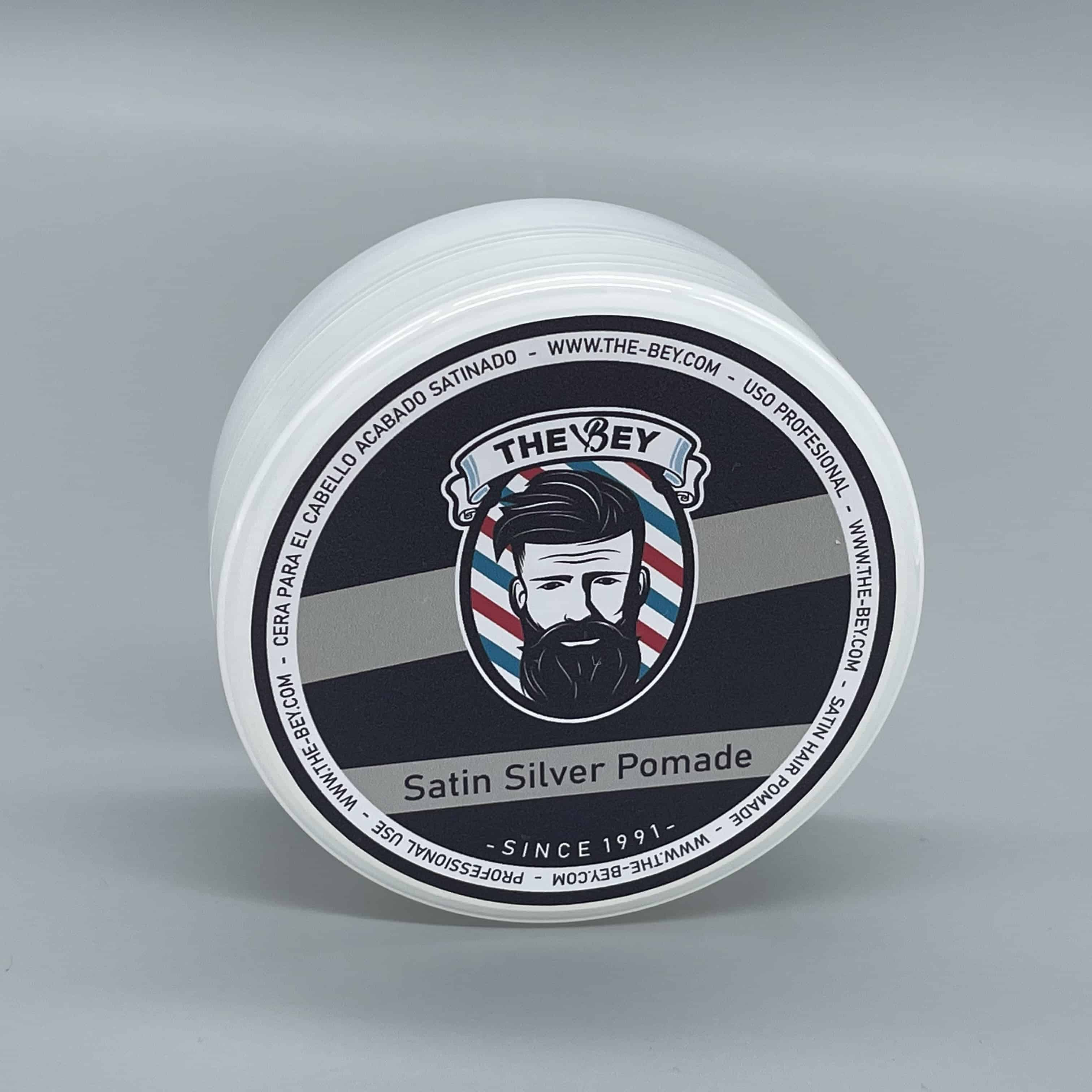 Satin Silver Pomade Wax